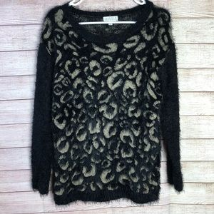 Joseph A. Soft Fuzzy Pull Over Knit Sweater SizeS